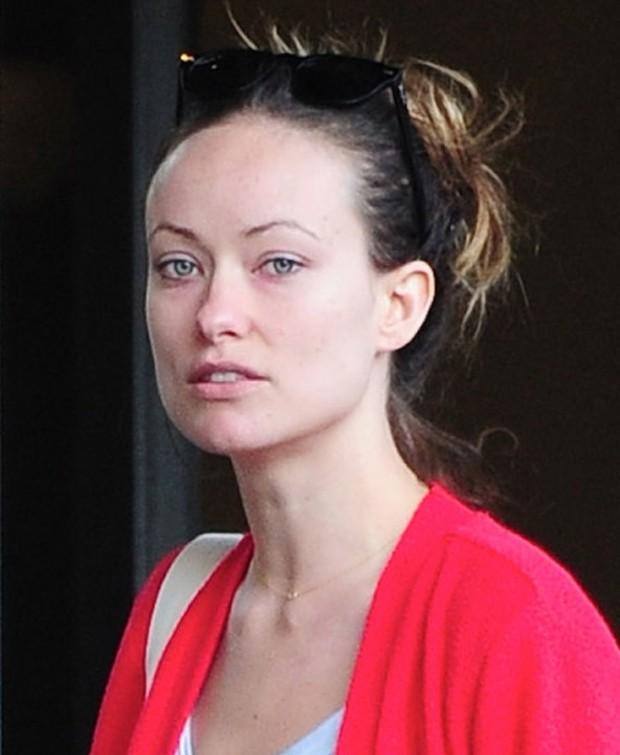 Olivia Wilde sem maquiagem (Foto: Reprodução)