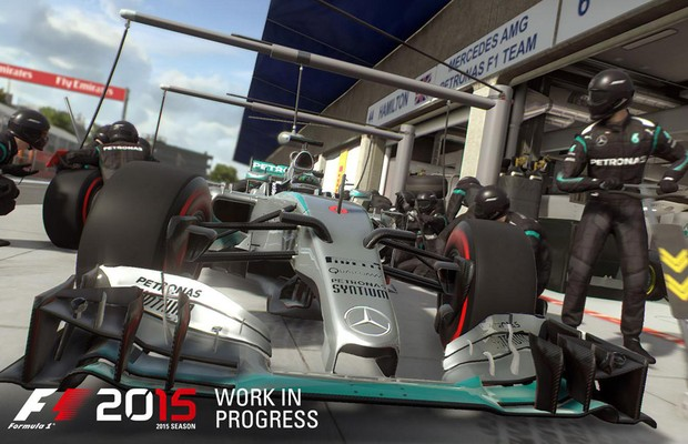 Mais realista, simulador F1 2015 chega em junho