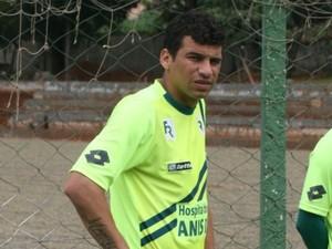 Neto Baiano, atacante do Goiás (Foto: Rosiron Rodrigues / Goiás E.C.)