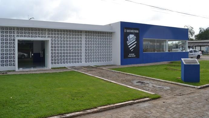 CT Gustavo Paiva, no Mutange (Foto: Jota Rufino/GloboEsporte.com)