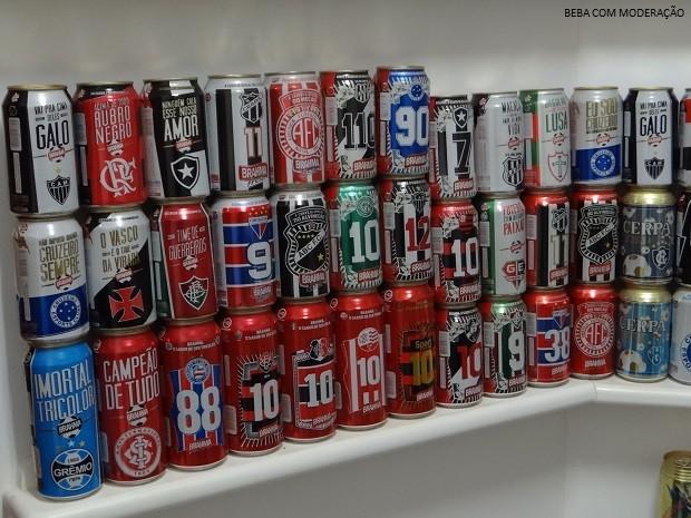 cervejeiros_coleçãolatas 2 (Foto: Arquivo Pessoal)