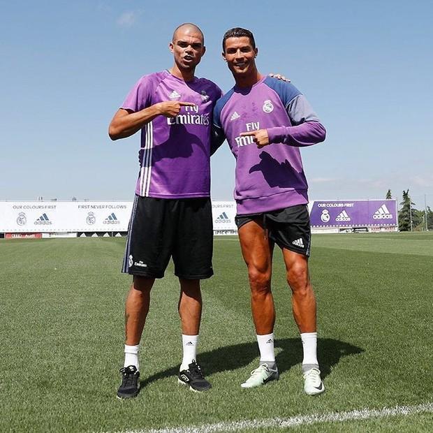 Cristiano Ronaldo, o embaixador do estilo (Foto: Reprodução/Instagram)