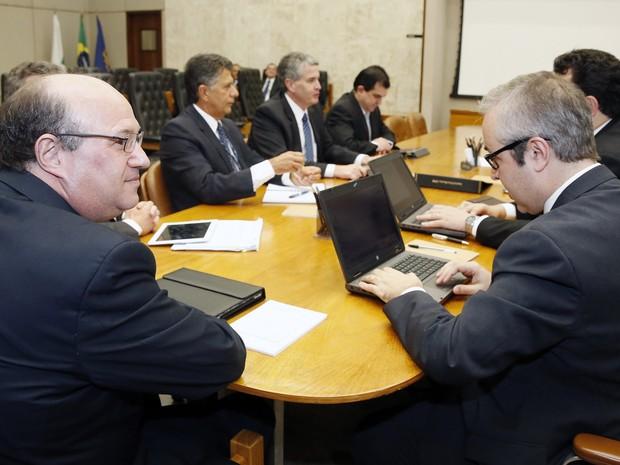 Reunião do Comitê de Política Monetária (Copom), do BC, de julho de 2016 (Foto: Divulgação/Banco Central)