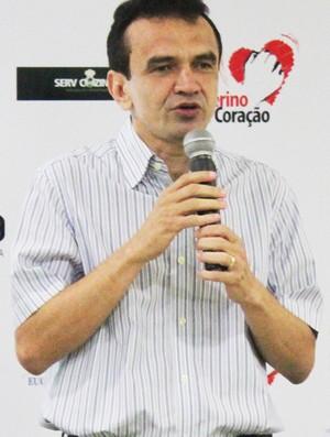 Elizeu Aguiar, presidente do River-PI (Foto: Náyra Macêdo/GLOBOESPORTE.COM)