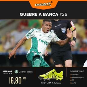 Cartola Chuteira adidas Gabriel Jesus (Foto: GloboEsporte.com)