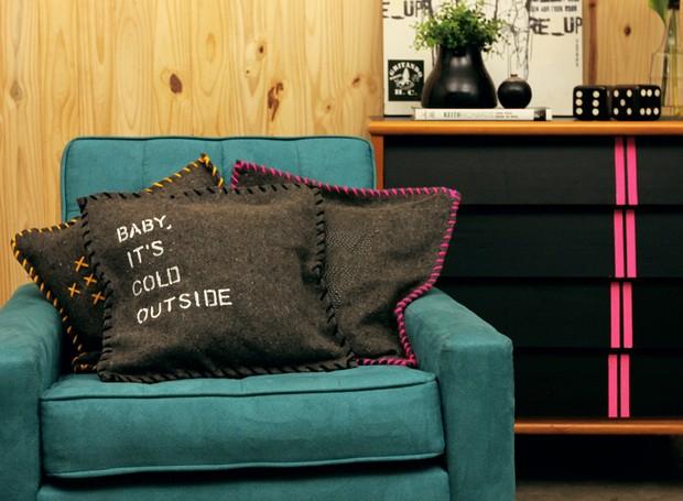 capa de almofada, vídeo, erika karpuk (Foto: Reprodução)