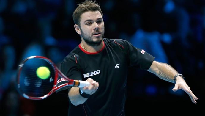 tênis Stanislas Wawrinka atp finals (Foto: Agência AP)