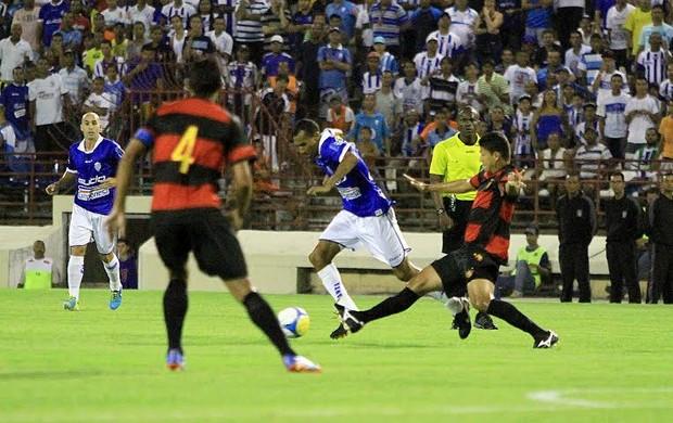 CSA x Sport, em Maceió (Foto: Ailton Cruz/ Gazeta de Alagoas)