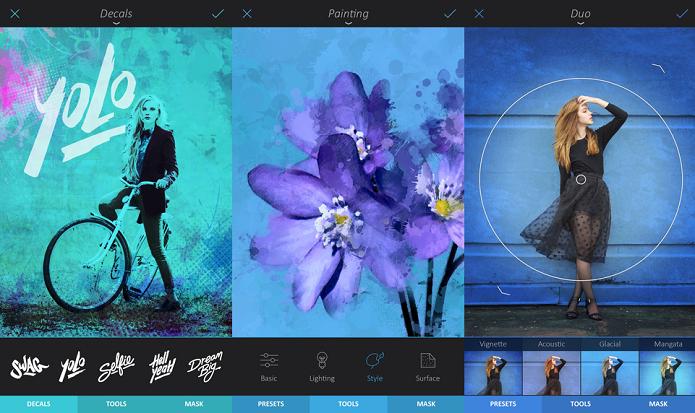 Tenha todas as opções de edição de imagem com o Enlight (Foto: Divulgação/AppStore)