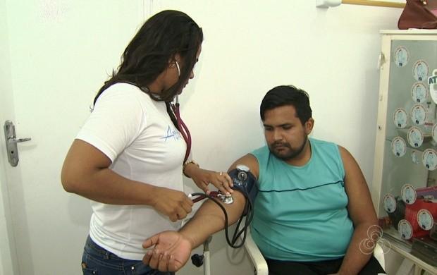 Programação incentiva homens a cuidarem da saúde, em Roraima (Foto: Bom Dia Amazônia)