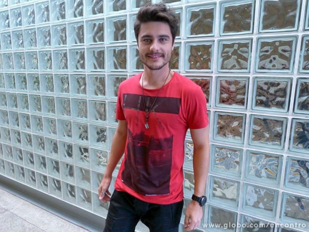 Guilherme_Leicam (Foto: Encontro com Fátima Bernardes/TV Globo)