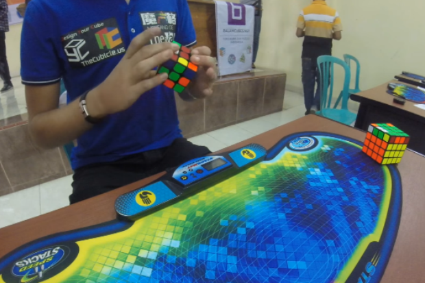 Cubo mágico (Foto: Reprodução/Youtube)