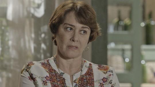 Final de 'Além do Tempo': Zilda e Felipe desconfiam de Melissa