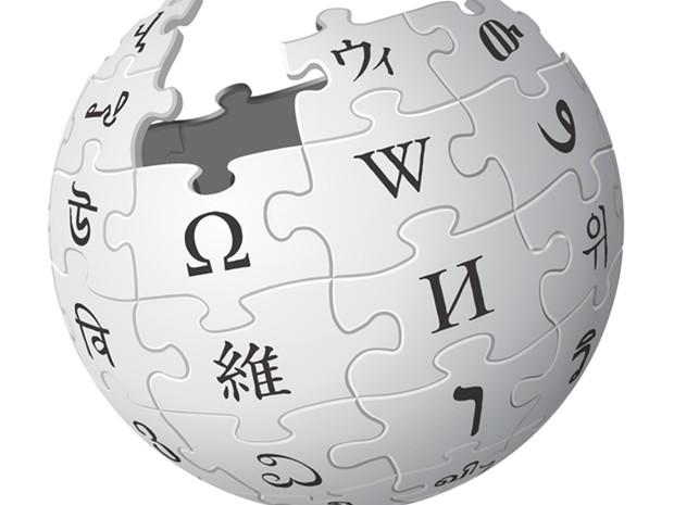Wikipédia, enciclopédia online e colaborativa. (Foto: Divulgação/Wikipédia)
