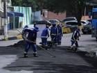 Ruas do centro de Manaus devem receber novo asfalto no 2º semestre