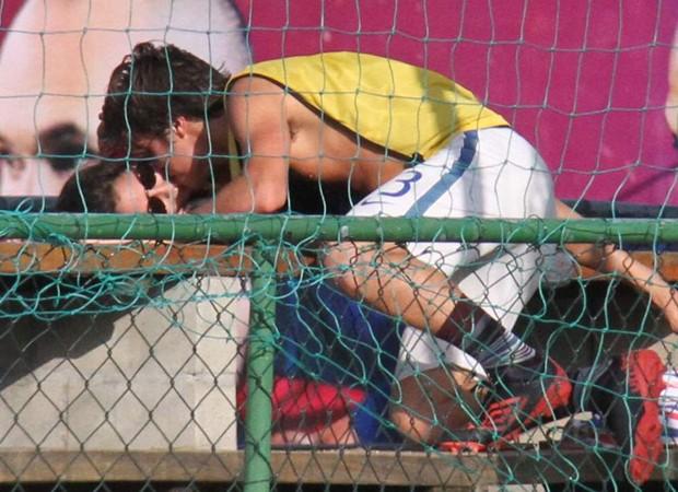 Amanda de Godói e Franciosco Vitti (Foto: Cleomir Tavares/Divulgação)