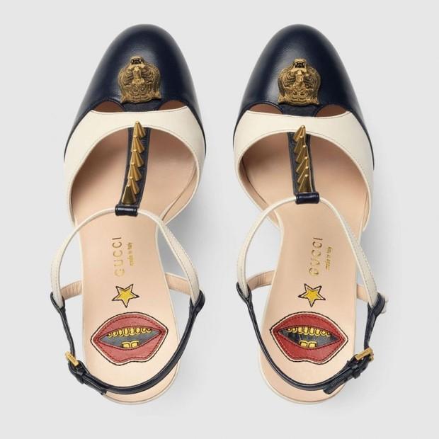 Sandália de couro Gucci (Foto: Divulgação)