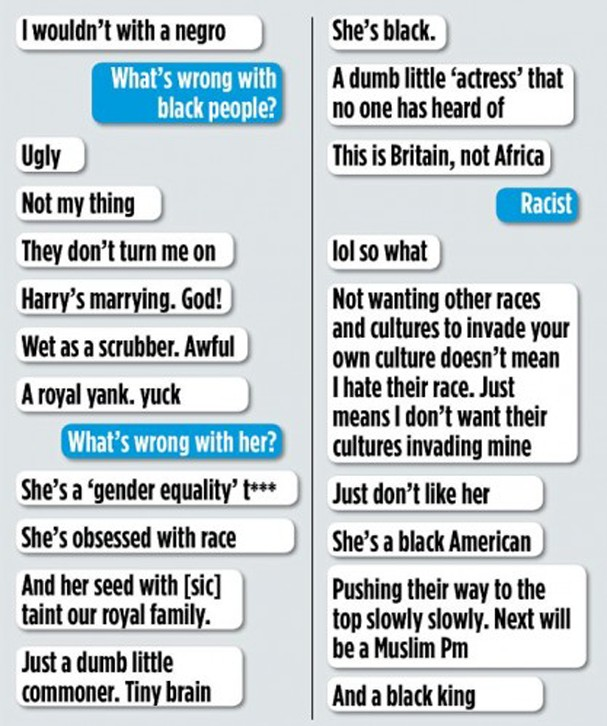Comentários racistas (Foto: Reprodução)