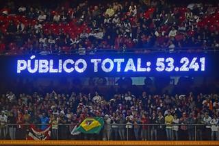 São Paulo x Toluca Torcida Público (Foto: Marcos Ribolli)