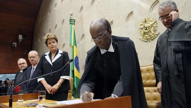 Resultado de imagem para F (Supremo Tribunal Federal) Joaquim Barbosa
