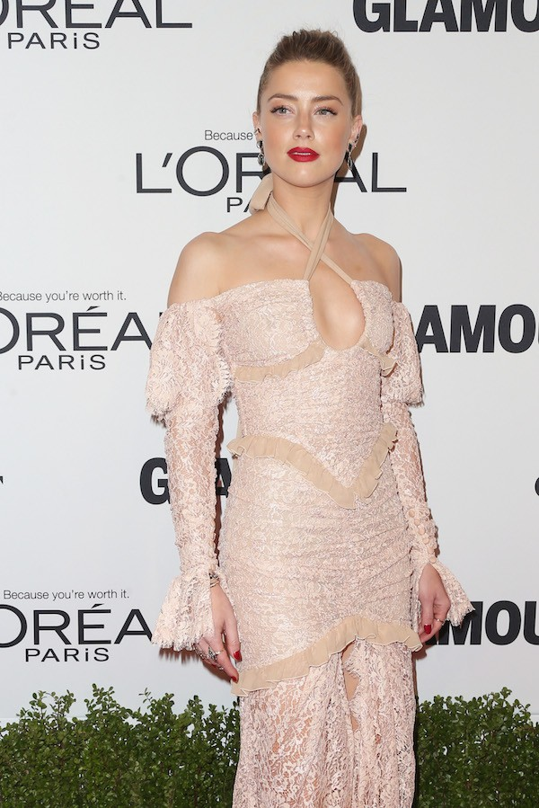 A modelo e atriz Amber Heard (Foto: Getty Images)