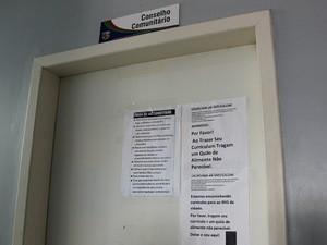 Conselho funcionava em prédio da 28º Companhia Interativa Comunitária (Cicom) (Foto: Indiara Bessa/G1 AM)