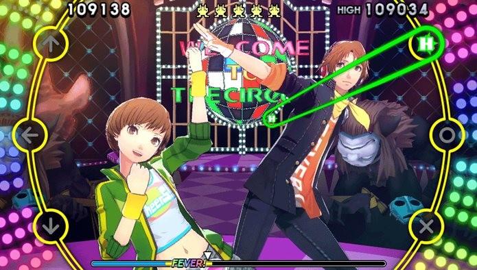 P4D é um jogo de dança com os personagens da série suspense e RPG (Foto: Divulgação / Atlus)