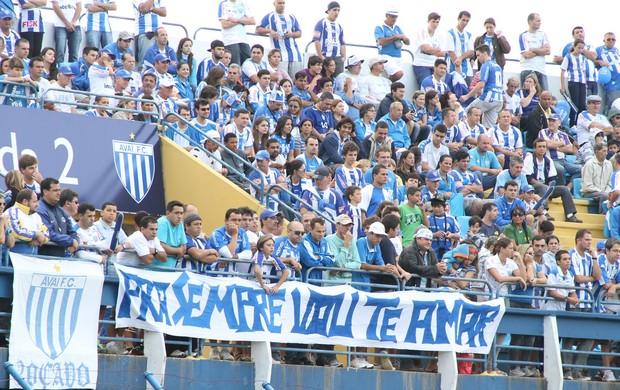 Avaí torcida  (Foto: Jamira Furlani/Avaí FC)