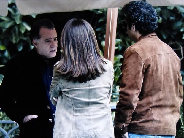Braga conta detalhes da noite anterior à dupla (Foto: O Rebu / TV Globo)