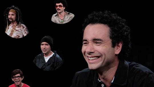 Marco Luque comemora temporada na Globo: 'Agora não sou só um apresentador'