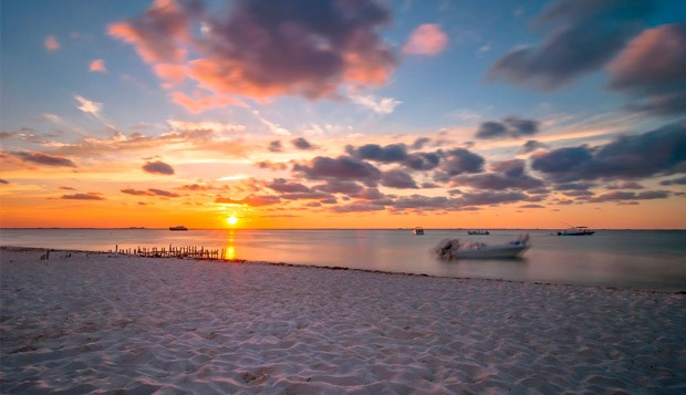 Praias de Cancn (Foto: Divulgao)