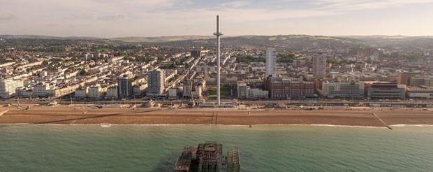 Conheça a torre de observação móvel mais alta e fina do mundo (Foto: Reprodução)