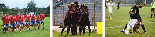Globo Esporte Paraná (Foto: Divulgação/ Paraná Clube / Divulgação/Site oficial do Atlético-PR / Daniel Rizzi/Agência Bom Dia)