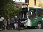 Motorista perde controle de ônibus e provoca acidente da Zona Sul de SP
