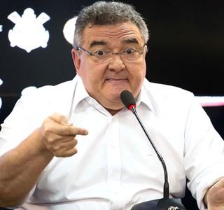 Mario Gobbi, coletiva Corinthians (Foto: Rodrigo Gazzanel / Estadão Conteúdo)