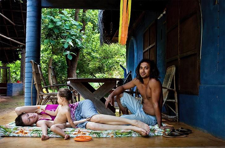 Geralmente, novos moradores vêm acompanhados de maridos e esposas (Foto: Divulgação)