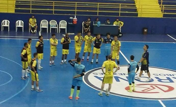 Treino São José Futsal (Foto: Gabriel Dantas/GloboEsporte.com)