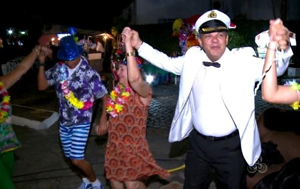 Pessoas de todas as idades aproveitaram a festa (Foto: Roraima TV)