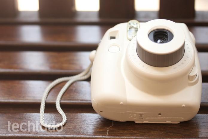 Instax Mini 8 é um bom investimento para fotos de diversão (Foto: Luana Marfim/TechTudo)