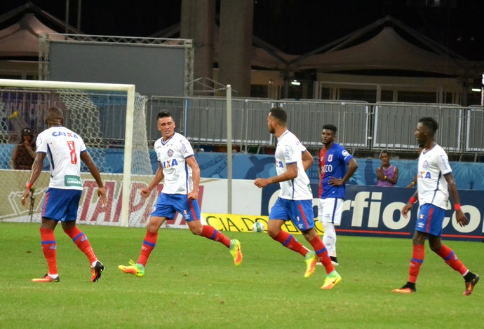 Bahia x Paraná gol (Foto: Futura Press)