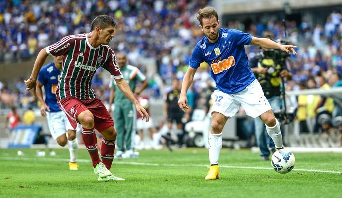 Cruzeiro x Fluminense, Éverton Ribeiro (Foto: Gustavo Andrade)
