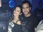 Ex-BBBs Mayla e Matheus curtem noite juntos e internautas já 'shippam'