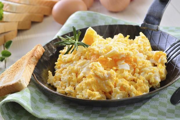 Ovos mexidos (Foto: Thinkstock)
