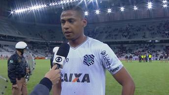 Bruno Alves elogia postura do Figueirense (Eduardo Valente/Framephoto/Estadão Conteúdo)