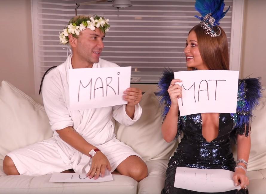 Mat e Marina (Foto: Reprodução)