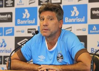 Renato Portaluppi Grêmio Renato gaúcho (Foto: Eduardo Moura/GloboEsporte.com)