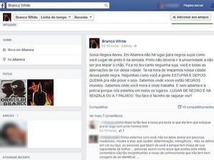 Sonia foi ameçada de morte na última quinta-feira (12) pelas redes sociais (Foto: Reprodução/Facebook)