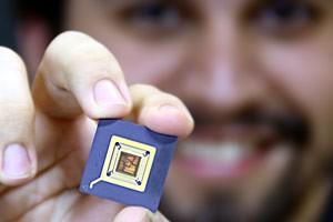 Mais de 20 alunos da UFCG participaram de projeto de chip (Foto: Divulgação)
