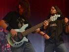 Solos de guitarra do Kriver empolgam (Diego Moraes / G1)