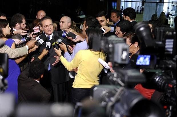 Renan Calheiros propõe pacto pela criação de empregos (Foto:  Marcos Oliveira / Agência Senado)